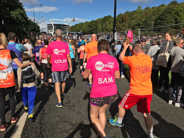 Le personnel de Bartec participe au Great North Run au profit de Mencap